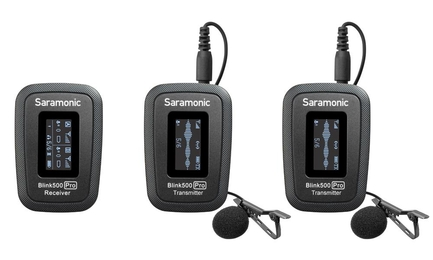SARAMONIC BLINK 500 PRO B2 MICROPHONE(TX+TX+RX) - Thumbnail