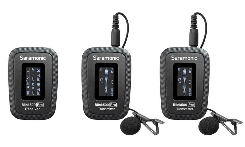 SARAMONIC BLINK 500 PRO B2 MICROPHONE(TX+TX+RX)